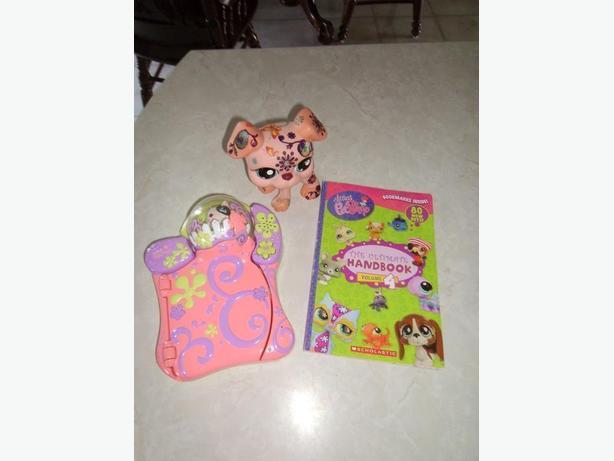 Little Pet Shop Journal, Dog and Book