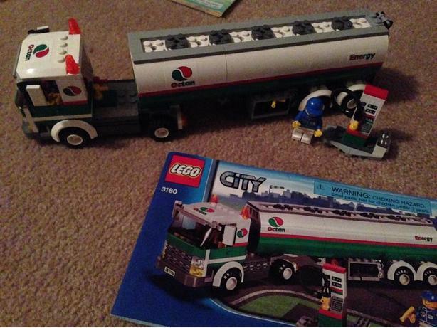 lego city tank truck