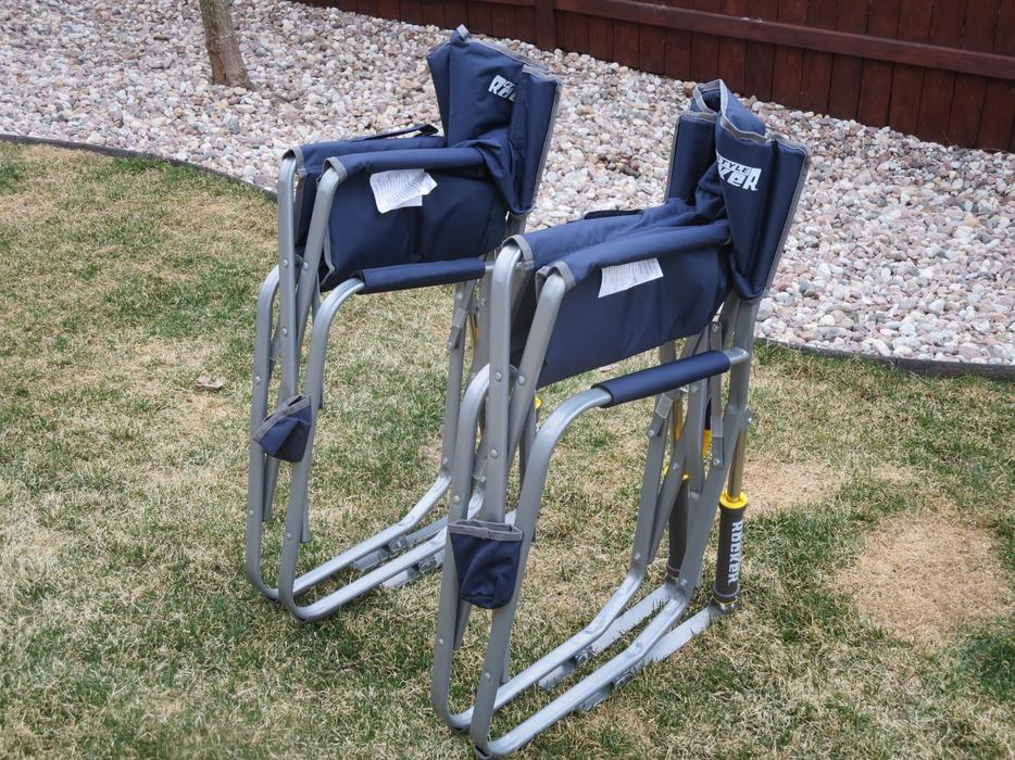Brand New Freestyle Rocker Camping Chair For Sale Orleans