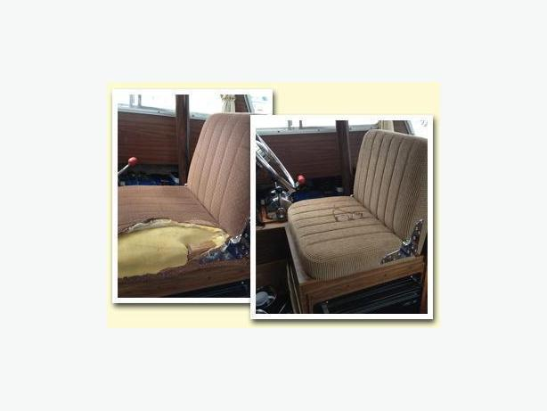 Boat mattresses & Re-upholstery