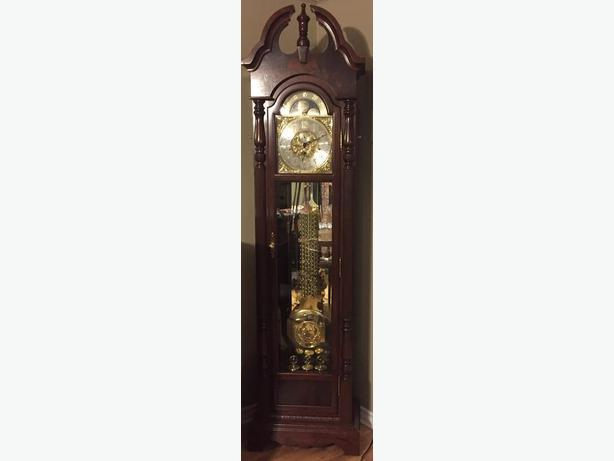 Bulova Grandfather Clock