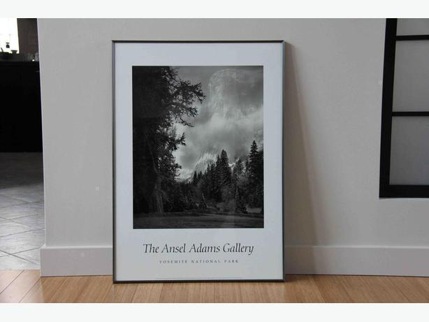 Ansel Adams El Capitan Print