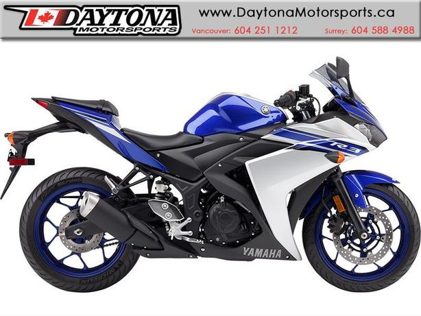 2016 Yamaha YZF-R3 * It's time to ride. Get your R3 now ! *