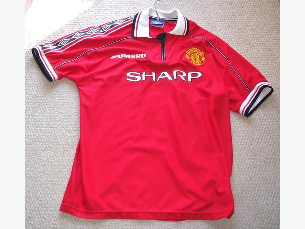 Soccer Jerseys- Man.United & Becklham-all Sz.XL-  $15.Each