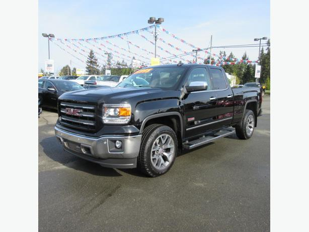 used 2015 gmc sierra 1500 slt 4x4 for sale in parksville outside comox valley courtenay comox. Black Bedroom Furniture Sets. Home Design Ideas