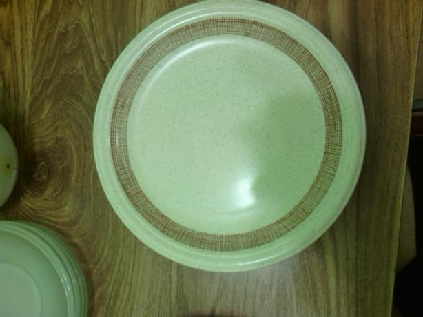 Assortment of plates, glasses, cups