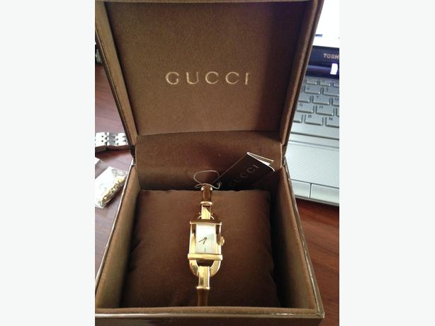 AUTHENTIC GUCCI BAMBOO LADIES WRIST WATCH
