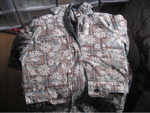 Girls SPORTEK winter jacket with hood - size 7/8