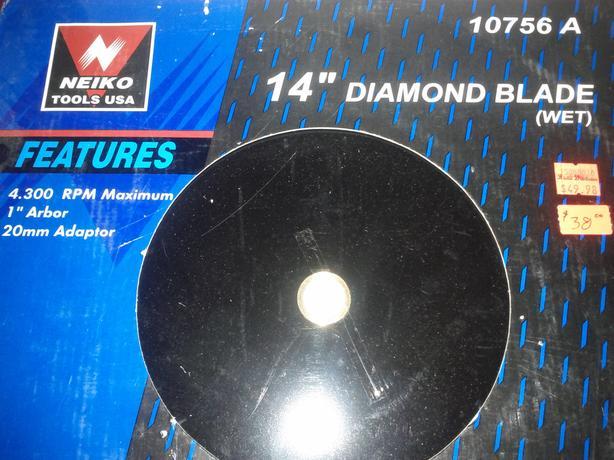 """14"""" Diamond Blade"""