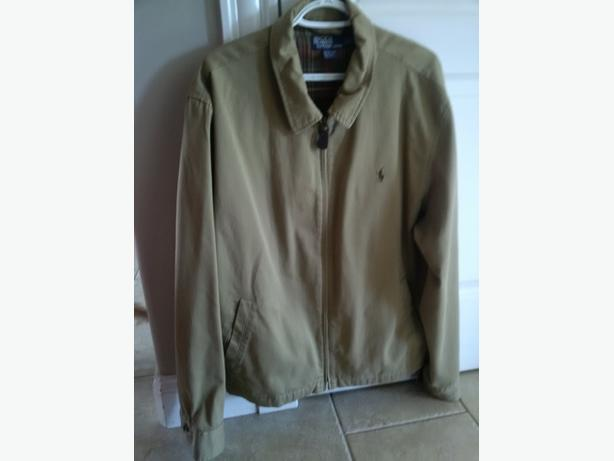 Mens XL Polo Jacket