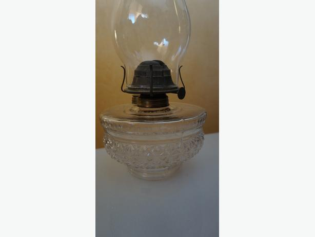 4U2C ANTIQUE OIL LAMP MADE FOR BRACKET WALL LAMP
