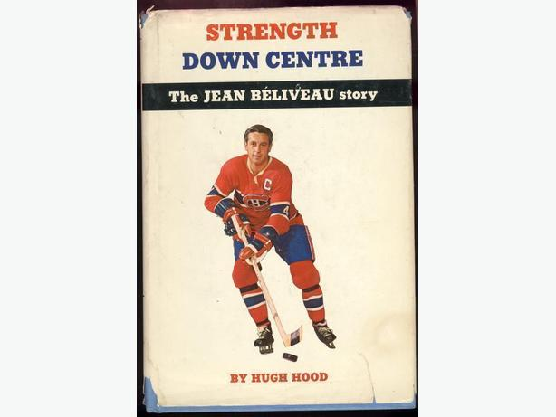Two Montreal Canadiens Books Beliveau Dryden