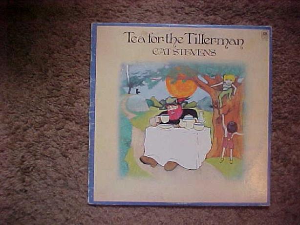 CAT STEVENS TEA FOR THE TILLERMAN VINYL LP