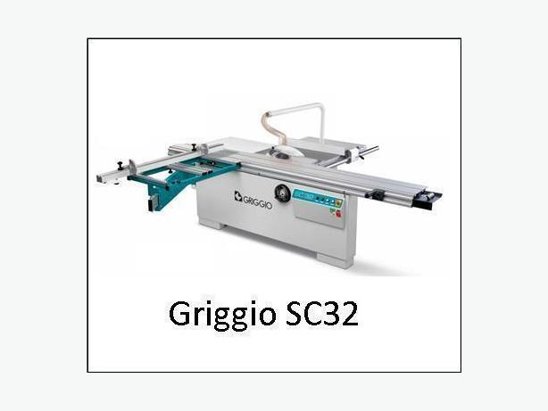 Sliding table saw Griggio SC 32 saw,