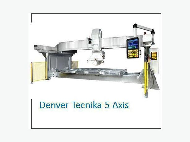 "Denver ""Tecnika 5 axis"" CNC Stone Bridge Saw"