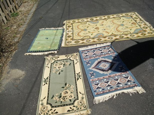 Carpets and dishes