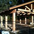 PEERLESS POST AND BEAM SHED STRUCTURE KITS