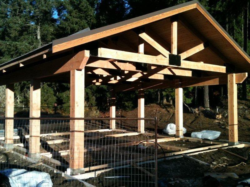 Peerless Post And Beam Shed Structure Kits Cobble Hill