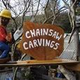 Chainsaw Garden Art