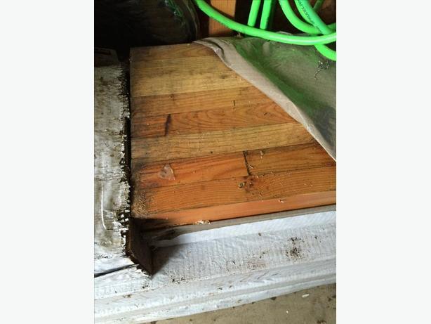 Laminated Wooden Beams