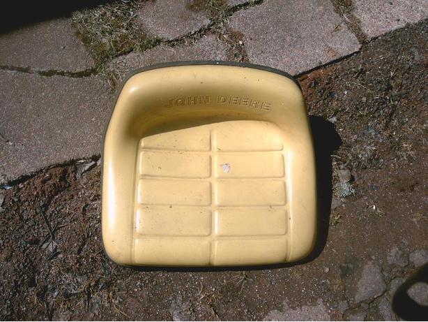 lawn mower seat