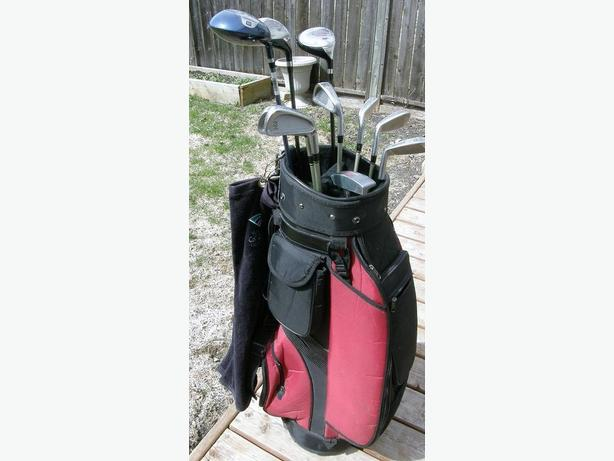Mens 11 Piece Matched Titeist DCI Right Hand Golf Set VGC