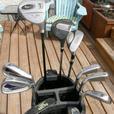 Mens 11 Piece Matched DUNLOP REBEL OVERSIZE Right Hand Golf Set VGC