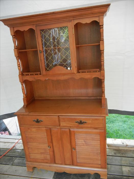Solid Maple Colonial Hutch Victoria City Victoria Mobile