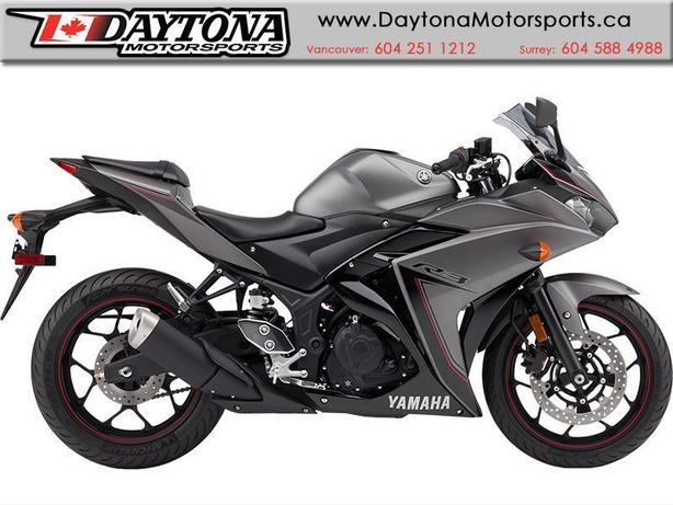 2016 Yamaha YZF-R3 Sport * It's time to ride. Get your R3 now ! *