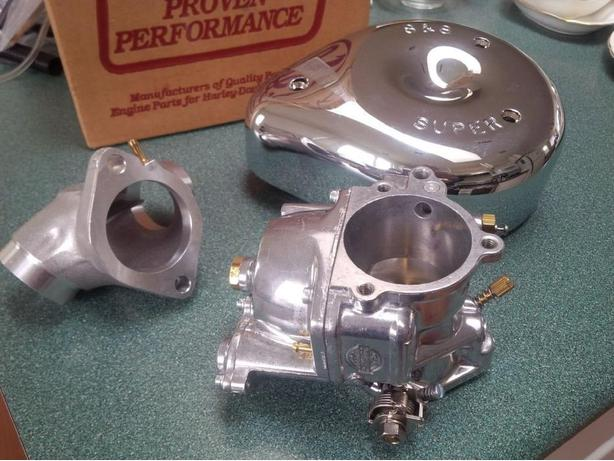 New S & S Super G Carburetor