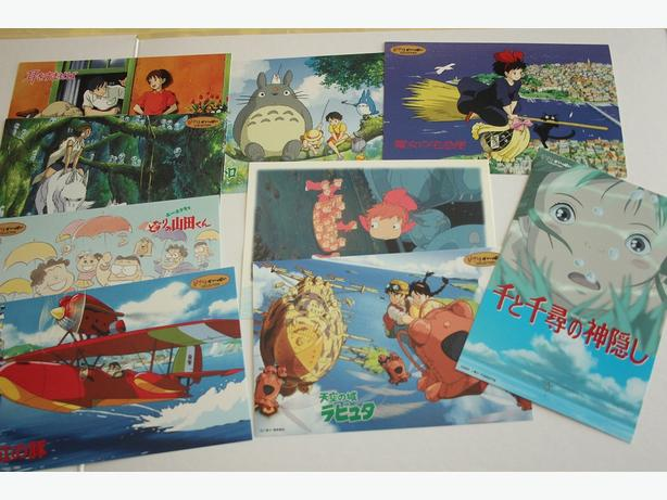 Reduce price:10 Studio Ghibli Post cards set $20→$18