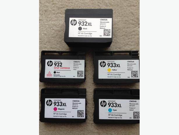 HP Officejet Printer Ink Cartridges.