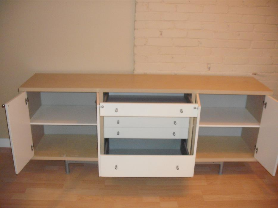 Birch Veneer Buffet ~ Ikea birch veneer sideboard buffet in guc on hold