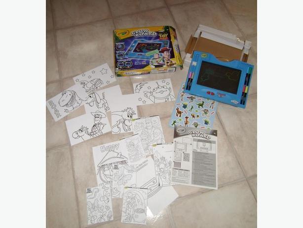 Glow Board Toy Story
