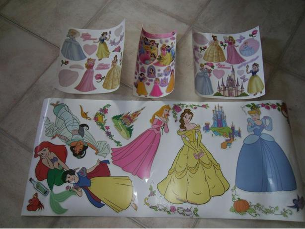 Princess Stickers for Bedroom Wall
