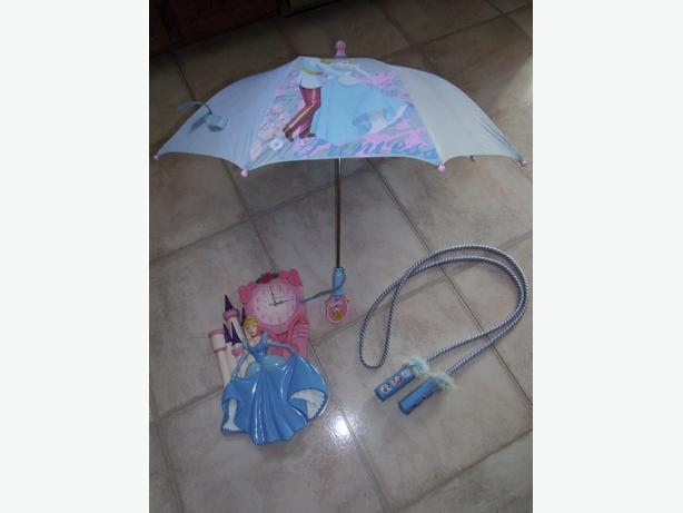 Cinderella Umbrella, Clock and Skip Rope