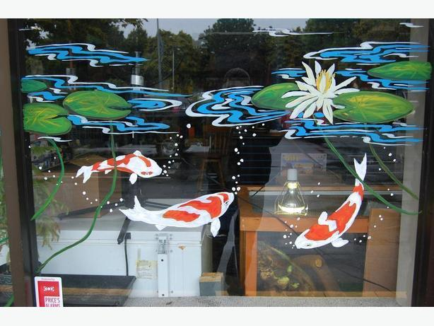Spring Window Painting/murals  ( commercial and residential)