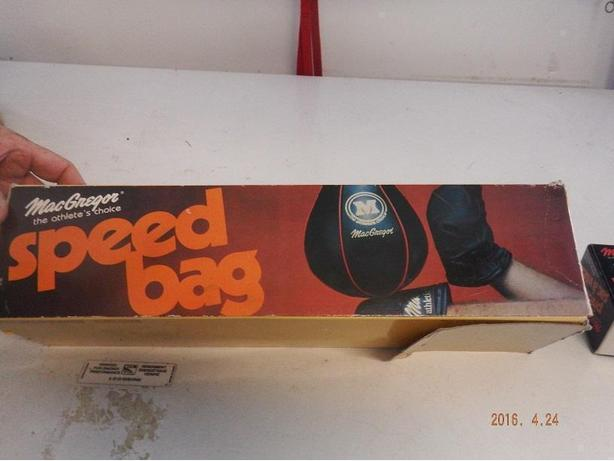 Boxing speed bag
