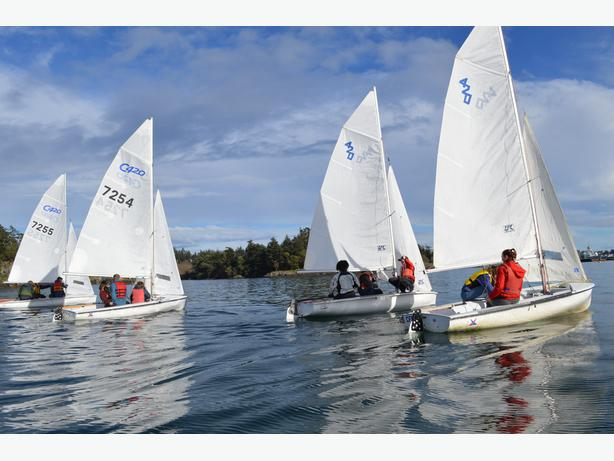 Sailing Instructor   CFSA Esquimalt