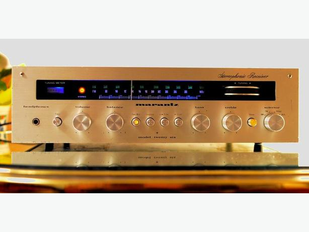 Classic MARANTZ 26 Model TWENTY SIX Stereo Receiver TUBE SOUND