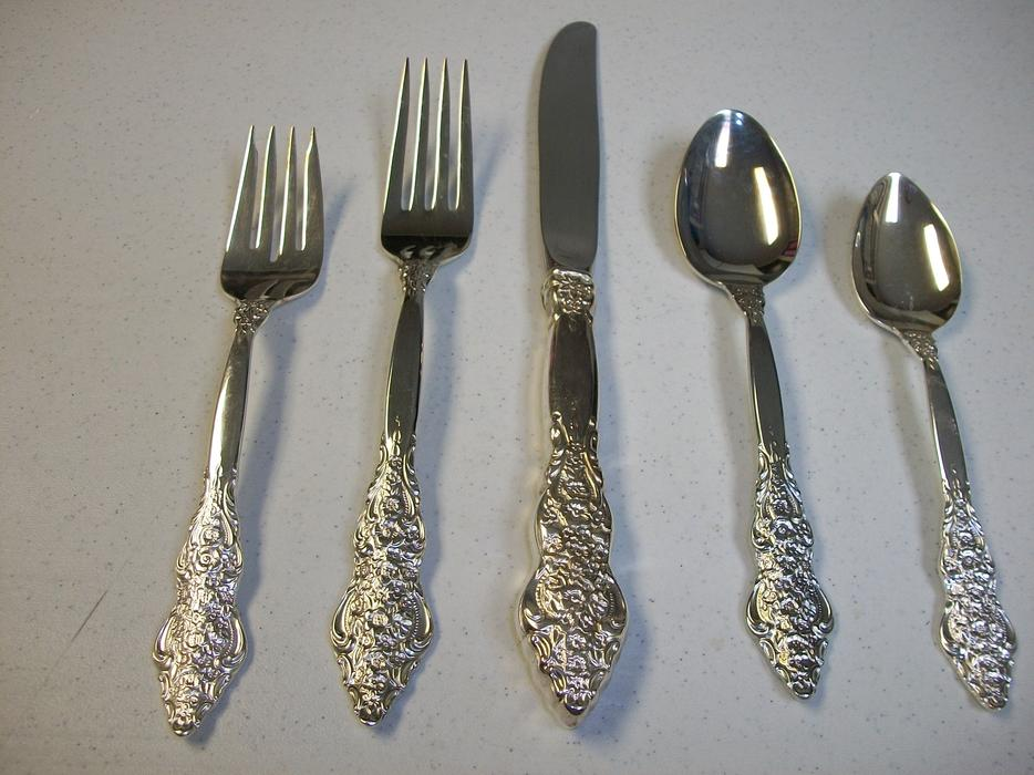 Is the 1847 Rogers Brothers IS silverware silver or plated