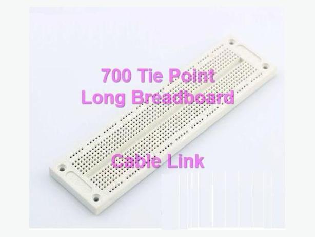 Solderless 700 Tie Points holes Breadboard Protoboard