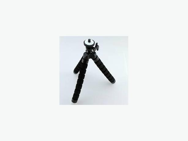 Universal Flexible Tripod Stand Mount Holder For GoPro Hero