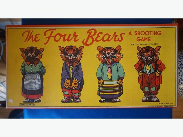 4u2c 1950's  The Four Bears Shooting Game