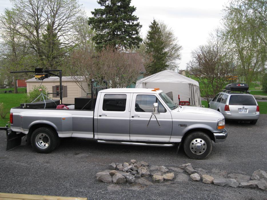 1996 Ford F 350 Xlt 7 3 Power Stroke Diesel Truck Outside