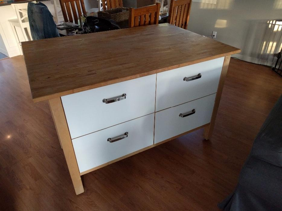 kitchen island ikea ikea kitchen island with drawers and maple top 1927