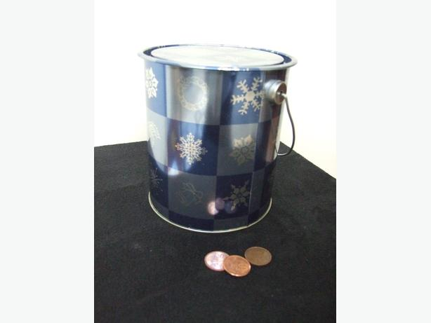 Christmas Gifting Paint Can container