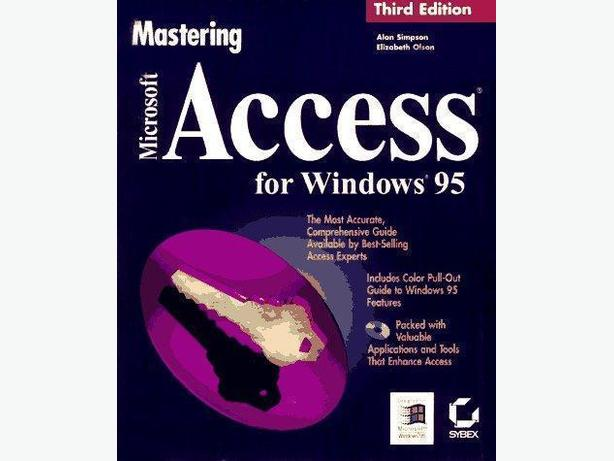 Mastering Microsoft Access for Windows 95 – 3rd Edition