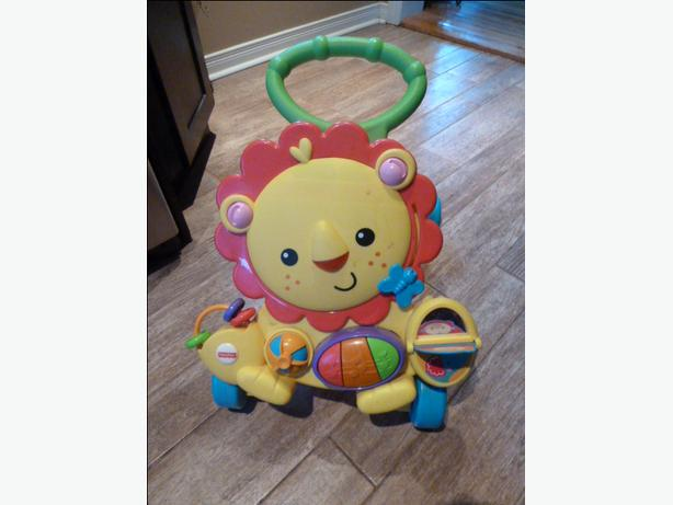 Fisher Price Musical Activity Lion Walker