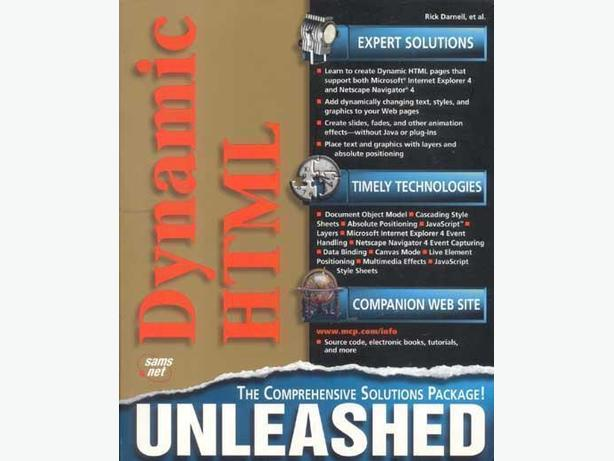 Dynamic Html Unleashed – 2nd Edition